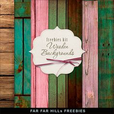 New Freebies Wooden Backgrounds