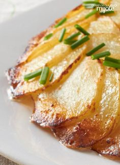 Pommes de terre au parmesan dorées au four #recette