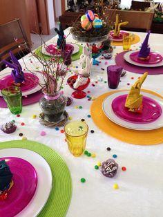 Decoração de mesa - Páscoa!