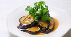 Grilled Eggplant with Miso Dressing | recipes | Dining with the Chef | NHK WORLD - English
