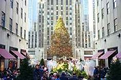 Rockefeller Center, NYC - never seen it during the winter... but 2 times during the summers.