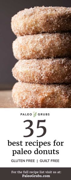 Sometimes you just need a cakey, doughy, sweet Paleo donut, ya know? Plus, all of these donut recipes are homemade and guilt-free!