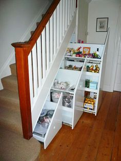 Ordinary Under Stairs Closet Storage Solutions - Ideas & Design : Under Stair Storage Solutions Attic Storage Solutions Under Stairs Storage Ikea, Under Basement Stairs, Closet Storage Drawers, Under Stairs Storage Solutions, Closet Under Stairs, Space Under Stairs, 3 Drawer Storage, Staircase Storage, Under Stairs Cupboard