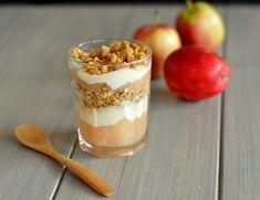 FROKOSTINSPIRASJON: EPLER - Bakekona Pudding, Snacks, Desserts, Food, Flan, Meal, Puddings, Hoods, Dessert