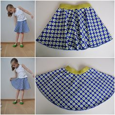 Skirt Patterns Sewing, Clothing Patterns, Baby Patterns, Dresses Kids Girl, Little Dresses, Sewing Clothes, Diy Clothes, Sewing Circles, Kids Wardrobe