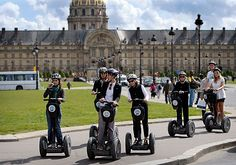 Segway tour of the Louvre area - it's fun!