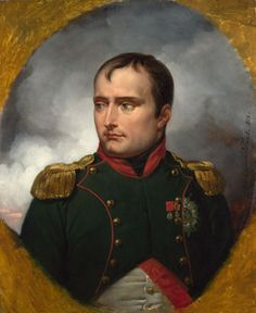 'The Emperor Napoleon I' by Emile Jean Horace Vernet (French 1789-1863)