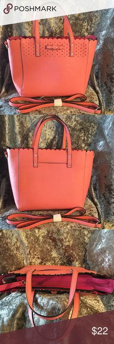 💋CANDIES Beautiful Salmon Pink Color! Adorable bag! Candie's Bags Shoulder Bags