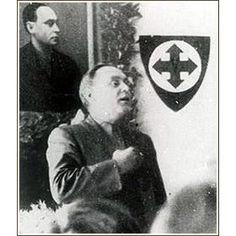 """Ferenc Szálasi Ferenc Szálasi was the leader of the fascist Arrow Cross Party – Hungarist Movement, the """"Leader of the Nation"""", being both Head of State and Prime Minister of the Kingdom of Hungary's """"Government of National Unity"""" for the final three months of Hungary's participation in World War II, after Germany occupied Hungary and removed Miklós Horthy by force."""
