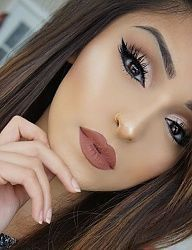 Hair Makeup Nails Beauty Ideas For 2019 Kiss Makeup, Cute Makeup, Gorgeous Makeup, Pretty Makeup, Hair Makeup, Witch Makeup, Halloween Makeup, Makeup Goals, Makeup Inspo