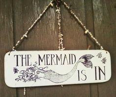 The Mermaid is In! - Mermaid Cottages on Tybee Island, GA Mermaid Sign, Mermaid Quotes, Mermaid Cove, Mermaid Fairy, Mermaid Beach, Real Mermaids, Mermaids And Mermen, Mermaid Kisses, Tybee Island