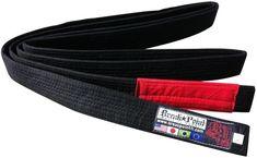 Black Break Point Adult Unisex BJJ Jiu Jitsu Gi Belt