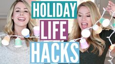 Last Minute Holiday Hacks You NEED To Know!