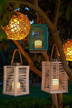 Perfect for the patio: Just let the sun charge up Pier 1's exclusive Solar Lantern, and you'll enjoy its charming glow in the evening. Or hang our Willow Ball LED Pendant and use the included timer and remote for a natural glow anytime you want.