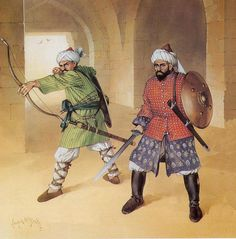 Mamluk Warriors  by cool-art, via Flickr
