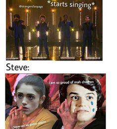 Stranger Things Memes 2 - 21 (*starts singing*)
