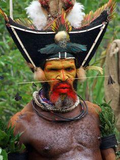 Png Huli Wigman New Guinea June Ross Women