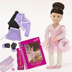 Get ready to take the stage with ballet loving Sydney Lee from the Our Generation Deluxe Dolls Collection!
