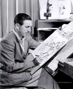 Mickey Mouse is, to me, a symbol of independence.- Walter Elias Disney