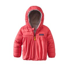Patagonia Baby Reversible Honey Puff Hoody | Tea Collection