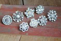 Three Scoops of Love: Tutorial on how to use vintage jewelry to create cabinet hardware.