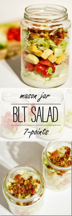 Mason Jar Recipe Ide
