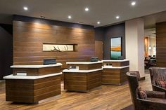 Courtyard Marriott @ The Irvine Spectrum Center in Irvine, Ca. Cabinetry and Millwork by Interior Solutions Inc. www.iscabinets.com