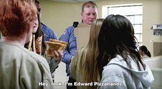 Edward Pizzahands OITNB
