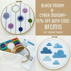 Good Morning!! ⛅ Don't forget there's 15% Off everything my Etsy shop and website with code BFCM15 until Monday!  Go and have a nosey