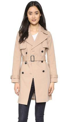 SHOPBOP - Club Monaco Yulia Trench Coat XS $329US