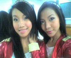 Irene and Celina
