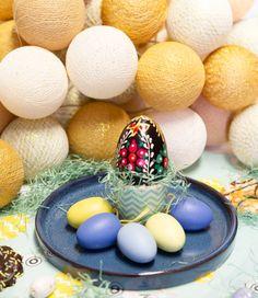 Cotton Ball Lights - Paasdecoratie tafel - Pasen - Paas verlichting - Paas decoratie