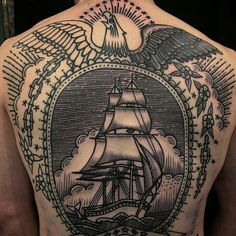 Outstanding Back Tattoo Designs for Men & Women - Designs & Meanings - Tattoo Ideas - Outstanding Back Tattoo Designs for Men & Women – Designs & Meanings – Tattoo Ideas - Love Tattoos With Names, Back Tattoos For Guys, Full Back Tattoos, Back Tattoo Women, Tattoos For Women, Back Piece Tattoo Men, Tattoos Arm Mann, Bike Tattoos, Body Art Tattoos