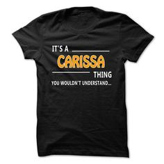 Carissa thing understand ST421 - #wedding gift #sister gift. CHECK PRICE => https://www.sunfrog.com/Names/Carissa-thing-understand-ST421.html?68278
