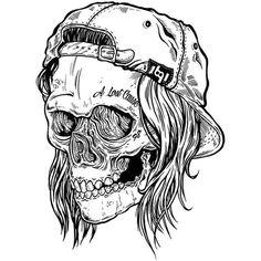 """Perish for Spring Make your parents proud, nab one up at… Skull Tattoos, Sleeve Tattoos, Skull Design, Design Art, Tatoo Crane, Tattoo Drawings, Art Drawings, Dessin Old School, Skull And Bones"