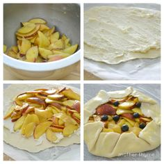 Peach-Ginger and Ricotta Crostata by motherthyme #Peach #Crostata #motherthyme