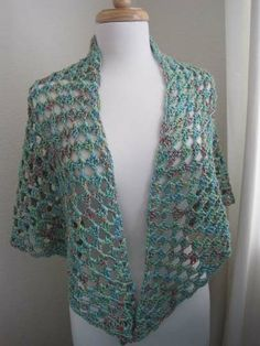Easy-Crochet Shawl