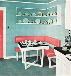 1949 Dining Corner by American Vintage Home, via Flickr