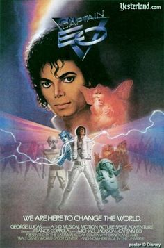 Captain EO - Truly a one-of-a-kind experience. So bad it's... bad.