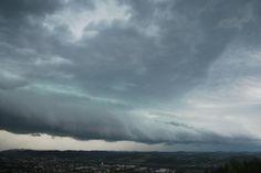 08.07.2015 - Unwetterzellen @ SOS Wetterstation Mühldorf (BZ Südost-STMK)