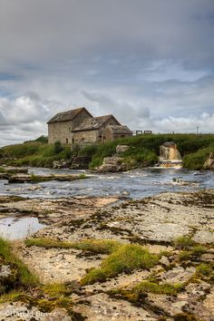 Stone Bridge and Mill, Thurso, Scotland. Thurso is on the north coast of the Highland council area of Scotland. It is the northernmost town on the British mainland. (V)