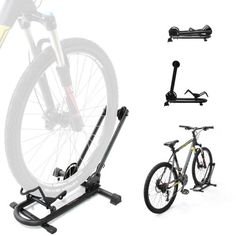Indoor Bike Storage - BIKEHAND Bike Floor Parking Rack Storage Stand Bicycle * More info could be found at the image url.