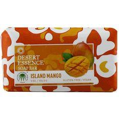 Desert Essence Bar Soap Island Mango (1x5 Oz)