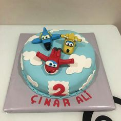 Super Wings cake...