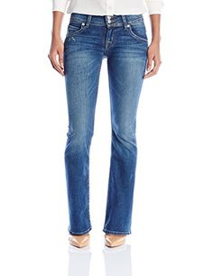 Hudson Jeans Womens Signature Petite Bootcut Flap Pocket Jean Point Break 25 * You can find out more details at the link of the image.(This is an Amazon affiliate link)