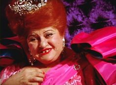 Edith Massey as Queen Carlotta in Desperate Living | Directed by John Waters, 1977