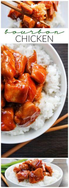 Bourbon Chicken - LO