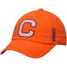 Women's Top of the World Orange Clemson Tigers Quadra Adjustable Hat