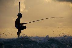 Sri Lanka : Stilt Fisherman