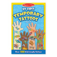 Tatouages Temporaires, Garçons- Melissa & Doug | Magasin Jubilane